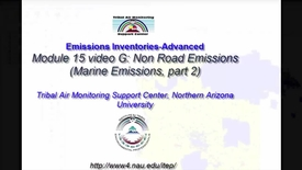 Thumbnail for entry EI Advanced 15G_ Non Road Emissions (Boats, part 2