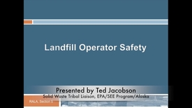 Thumbnail for entry Introduction to Operator Training and Safety Equipment