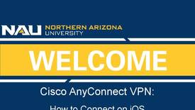 Thumbnail for entry How to Connect to Cisco AnyConnect VPN on an iOS Device