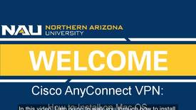 Thumbnail for entry How to Install Cisco AnyConnect VPN on a Mac