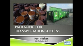 Thumbnail for entry Introduction to Hazardous Waste Packaging in Alaska