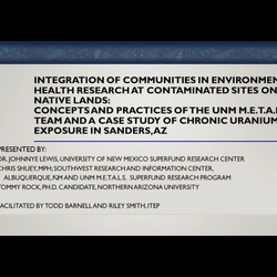 Thumbnail for channel Increasing Community Engagement on Contaminated Lands