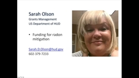 Thumbnail for entry HUD Funding for Radon Mitigation