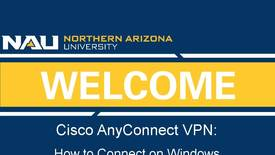 Thumbnail for entry How to Connect to Cisco AnyConnect VPN on a Windows Machine