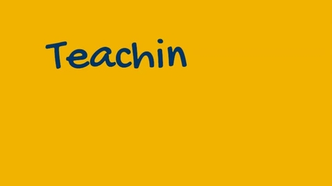 Thumbnail for entry Faculty on Teaching 2020