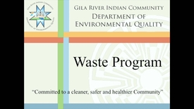 Thumbnail for entry GRIC Waste Program Overview