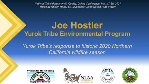 Thumbnail for entry Yurok Tribe's response to historic 2020 Northern California wildfire season