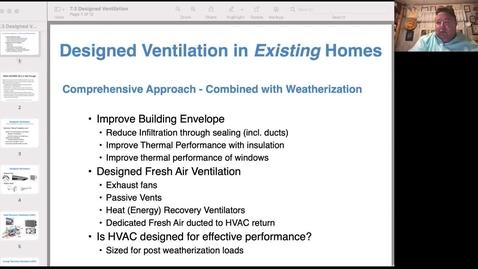 Thumbnail for entry Designed Ventilation