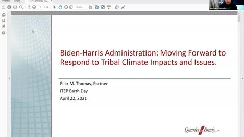 Thumbnail for entry Earth Day Pilar Thomas