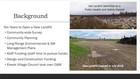 Thumbnail for entry 4 - Community of Ekwok's Solid Waste Ordinance Development Process