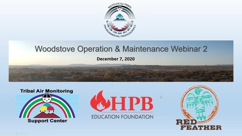 Thumbnail for entry Webinar Series_ Woodstoves in Indian Country_Webinar 2