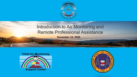 Thumbnail for entry Introduction to Air Monitoring and Remote Professional Assistance