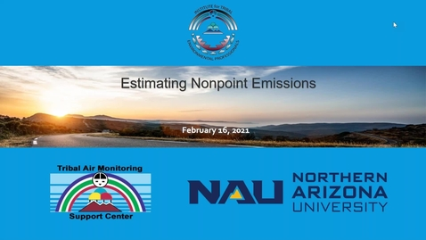 Thumbnail for entry Estimating Non-Point Source Emissions