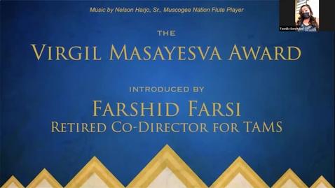 Thumbnail for entry Virgil Masayesva Environmental Excellence Award