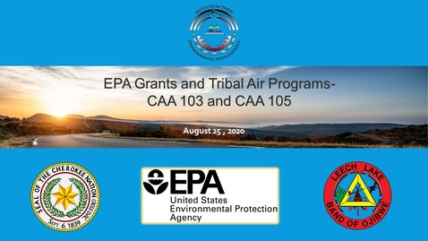 Thumbnail for entry EPA Grants and Tribal Air Quality Programs - CAA 103 and CAA 105