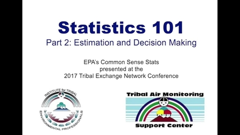 """Thumbnail for entry Statistics 101, Part 2: Confidence Intervals and  """"Plus or Minus"""" Values"""