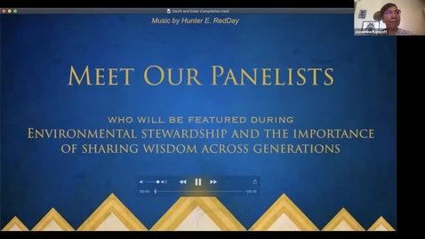 Thumbnail for entry Environmental Stewardship and the Importance of Sharing Wisdom Across Generations: Full Plenary