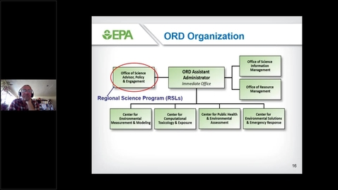 Thumbnail for entry USEPA ORD Technical Support and Regional Collaboration