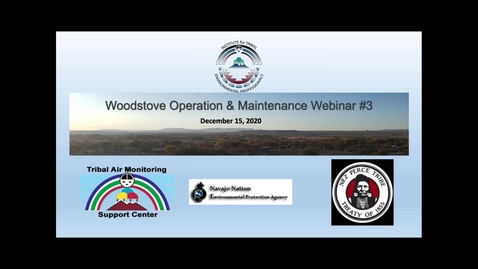 Thumbnail for entry Webinar 3 Wood Stove in Indian Country