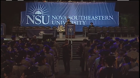 Thumbnail for entry Commencement - 5/20/2016 - 10am