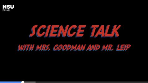 Thumbnail for entry Science Talk Video