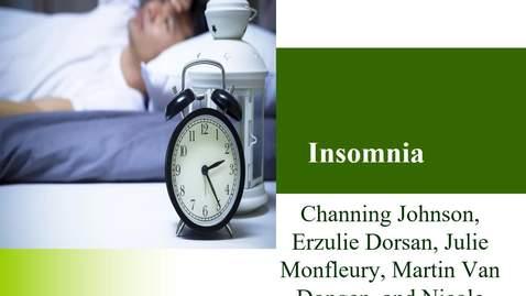 Thumbnail for entry Insomnia kaltura