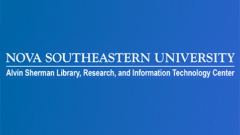 Thumbnail for entry Alvin Sherman Library