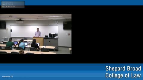 Thumbnail for entry Evidence with Jonathan Grossman 4/2/19