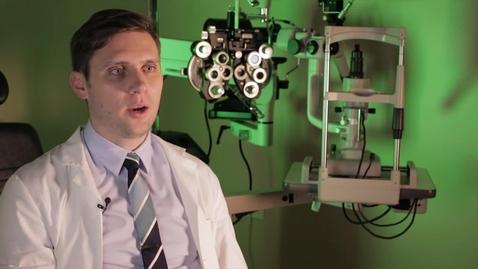 Thumbnail for entry Brandon Prete-Optometry
