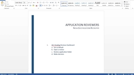 Thumbnail for entry Application Reviewers_For Faculty