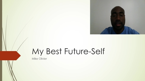 Mike Olivier My Best Future-Self