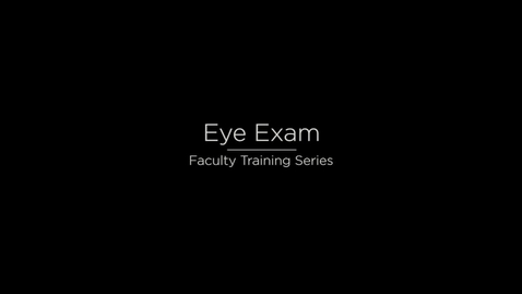 Thumbnail for entry Eye Updated