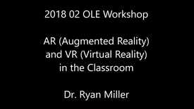 Thumbnail for entry AR (Augmented Reality) and VR (Virtual Reality) in the Classroom