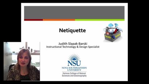 Judith Netiquette