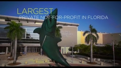 Thumbnail for entry Nova Southeastern University Overview Video