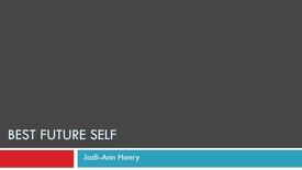Thumbnail for entry Jodi-Ann's Best Future Self