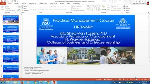 """Lecture 9/28/16 """"HR Toolkit"""""""