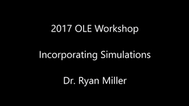 Thumbnail for entry Incorporating Simulations