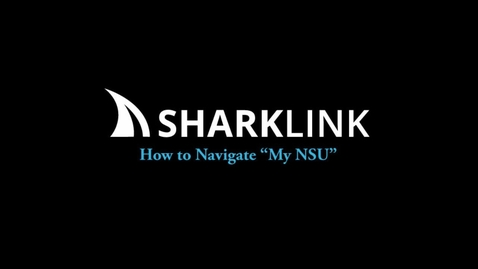 """Thumbnail for entry How to Navigate """"My NSU"""""""