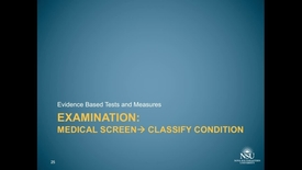 Thumbnail for entry MS2 1c. Cervical 3, Examination