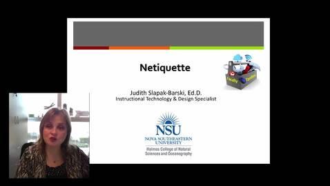 Judith Netiquette 2018