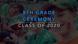 Thumbnail for entry USchool - 8th Grade Ceremony 2016