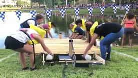 Thumbnail for entry Raft Race Video