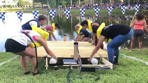 Raft Race Video