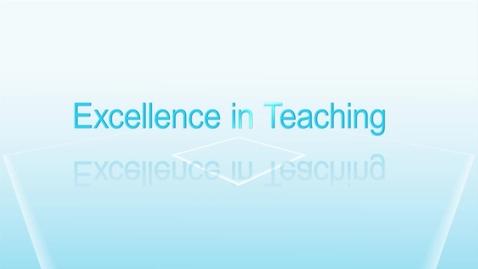 EIT 2016- Excellent Teaching