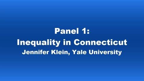 Panel 1 Jennifer Klein
