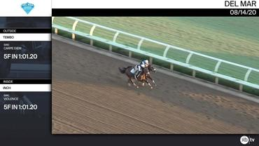 Tembo (Outside) and Inch Worked 5 Furlongs in 1:01.20 at Del Mar on August 14th, 2020