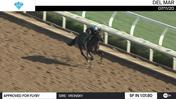 Approved For Flyby Worked 5 Furlongs in 1:01.60 at Del Mar on July 11th, 2020