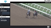 Aunt Lubie (Outside) and Woke Up To Aces Worked at Del Mar on August 20th, 2020