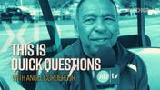 Quick Questions With Hall of Fame Jockey Angel Cordero Jr. Part 1 of 2